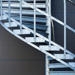 schody spirala